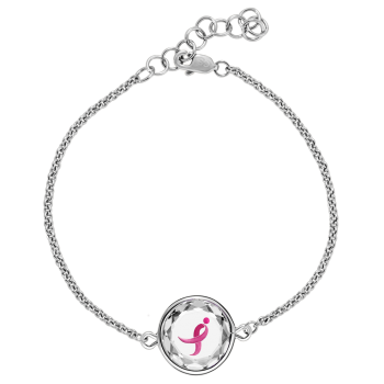 The Susan G. Komen Sterling  Bracelet